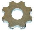 frézovací lamela 80 mm s osmi tvrdokovovými hroty