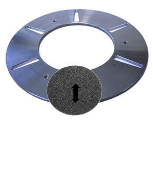 unašecí patka ETX 76 mm, pro plastové diamanty