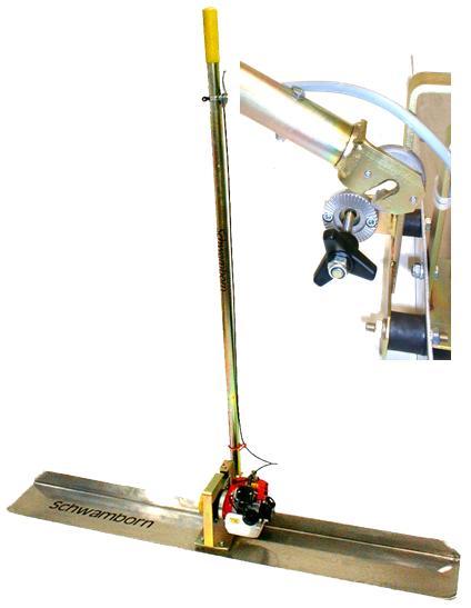 BAS 1500 V, vibrační lišta na beton a potěr