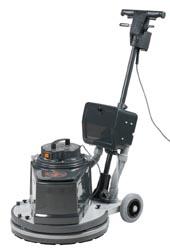 ES 545 jednokotoučový vysokoobrátkový čístící stroj