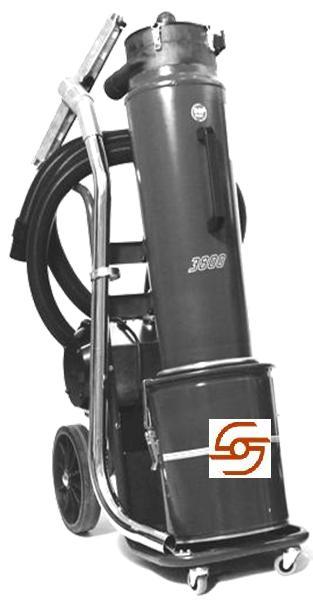SDC 380 turbo průmyslový vysavač 2,5 kW